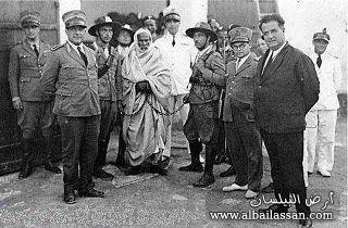 المختار والضابط الايطالي bilassan-13237850931